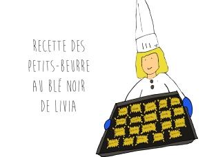 Recette des petits beurre blé noir