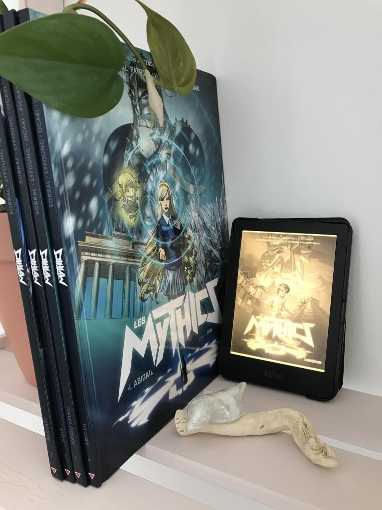 Une BD qui ressemble aux Légendaires ? Les Mythics de Patrick Sobral, Patricia Lyfoung et Philippe Ogaki, critique de Livia